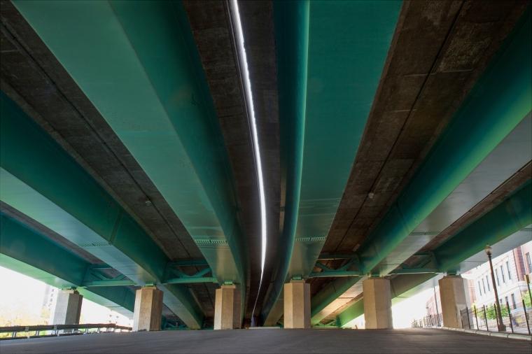 Roadway Underside